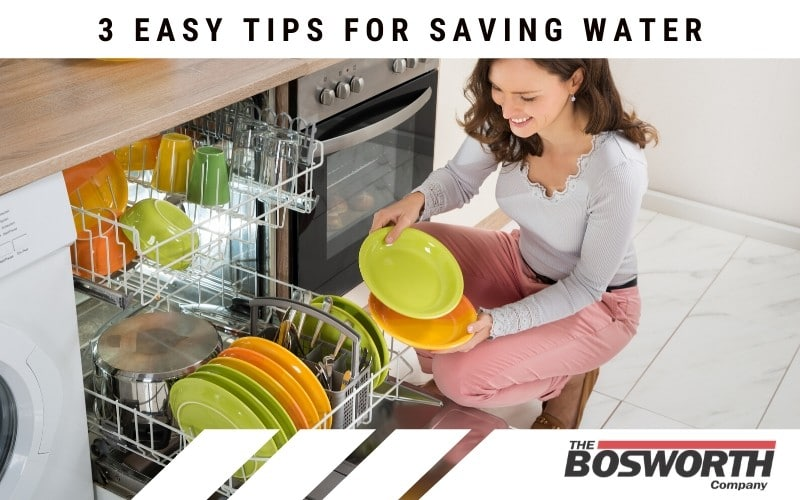 Using the dishwasher is surprisingly good for saving water