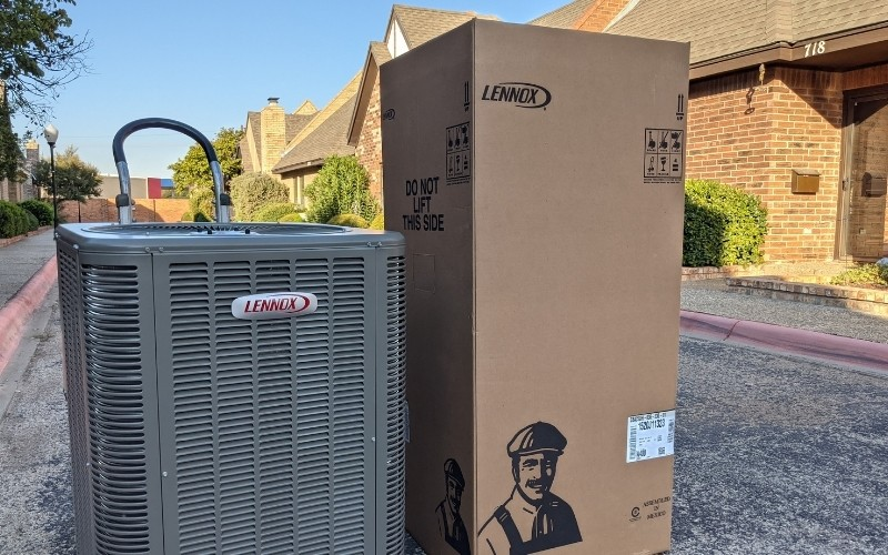Replace your HVAC with a new Lennox unit!
